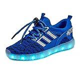 Usay like Envio 24 Horas Nuevos Modelos Zapatillas LED con 7 Colores L..