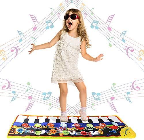 Swonuk 19 clés Tapis de Piano Tapis de Danse Danse Danse de Clavier Tapis de Musique Tapis de Jeu pour Bébé Bambin 110 * 36cm B07L92SF11 e7ac5a