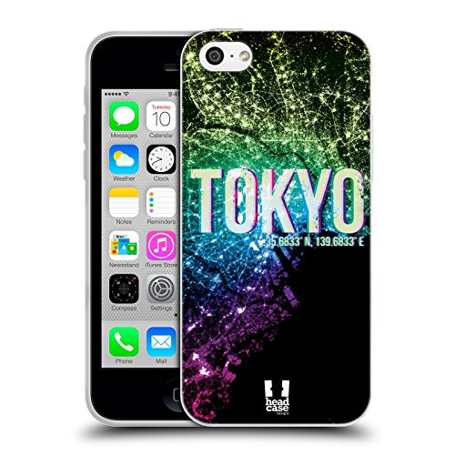 Head Case Designs Los Angeles Lichter Der Stadt Soft Gel Hülle für Apple iPhone 6 / 6s Tokyo