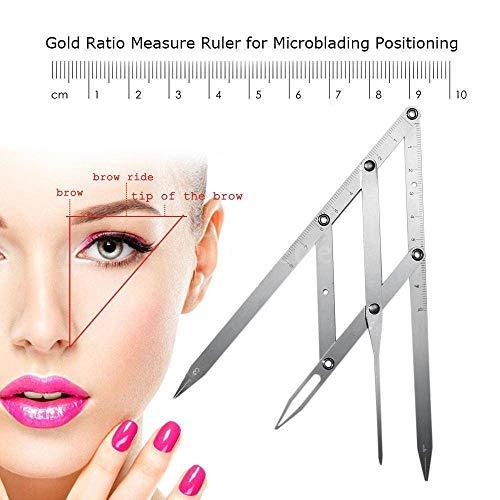 Microblading - Regla cejas maquillaje permanente diseño