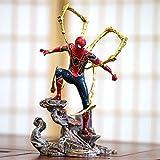 11 Pouces Spiderman Modèle Marvel, Statue De Décorations De Bureau Modèle Poupée Avengers Ps4, Cadeau d'anniversaire A