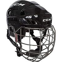 CCM Helm Fitlite 80 Combo SR - Black/Black S