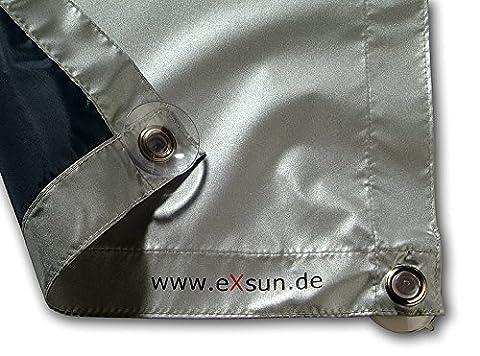 eXsun Sonnenschutz für Velux M08 / 308 Dachfenster Rollo, Hitzeschutz,