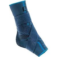 Aqtivo Sport - Tobillera elástica con almohadillas de silicona maleolares y  correa de la figura de d12544789410