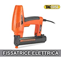 Tacwise 191EL - Grapadora/Clavadora eléctrica para grapas estrechas de 91 y clavos de 180 (18G)