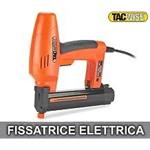 Tacwise 0190 - Grapadora / clavadora eléctrica 191EL (utiliza grapas tipo 91 de hasta 30mm y clavos 180 de hasta 35mm)