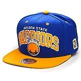 Mitchell & Ness Snapback Cap Team Arch HWC Golden State Warriors Blue/Yellow