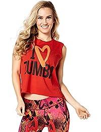 Zumba Fitness Z1t01288 T- T-Shirt Femme f14353a79c6d
