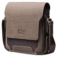 حقيبة ماسنجر طويلة تمر بالجسم للرجال من فيديكا بولو 23 سم × 25 سم