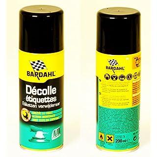 BARDAHL DECOLLE ETIQUETTES Etikettenentferner - 200 ml Spraydose