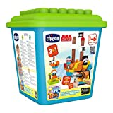 Chicco 00006813000000 (S)–Building Sets, jedes Geschlecht - Pirateninsel, mehrfarbig