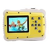 SODIAL Mini 2 Zoll Full HD 720 P Digital SLR Kamera 120 Grad Weitwinkel fuer Kinder Spielzeug Wasserdicht Staubdicht Kinder Kamera Camcorder 5M Pixel (Unterstuetzung 32GB TF Karte) Gelb