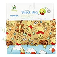 Bumkin Reusable Snack Bag Small 2 Pack - Winnie The Pooh