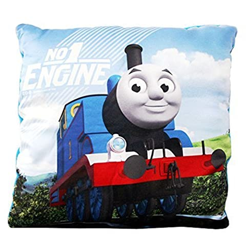 Thomas and Friends - Children's Pillows - Cushion No. 1 Engine - Size 31x31 cm