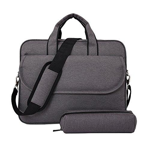 a4bf030489ed20 LOSORN ZPY Schulter Tasche Laptoptasche Aktentaschen Handtasche Tragetasche  Notebooktasche Umhängetasche Laptop sleeve Laptop hülle mit Schultergurt