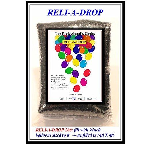 reli-a-drop Ballon Drop Netting - 200 - Ballon-netz