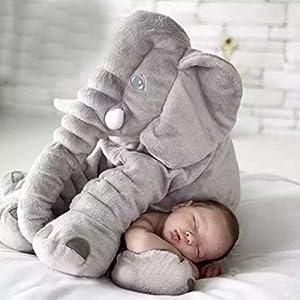 Elephant Pillow(Baby Toys)/Baby Pillow/Elephant Stuffed Plush Pillow Sleeping Cushion Pillow Kids Comfort Toy by Pusheng