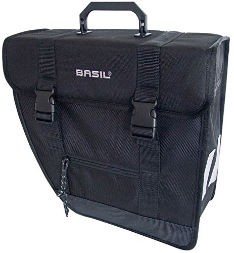 Basil Einzelpacktasche Tour-Single LI Fahrradtasche, Black, 33 cm x 14 cm x 33 cm
