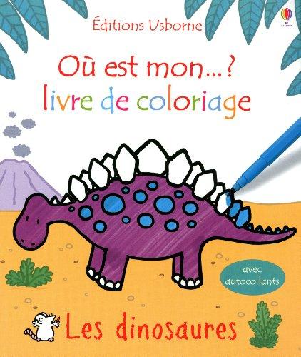 Livre de coloriage Les dinosaures
