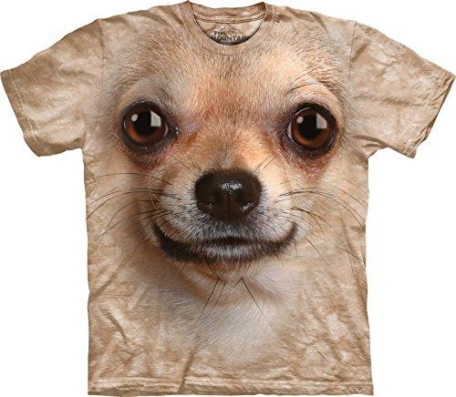 The-Mountain-Maglietta-Chihuahua-Face-Dog-Adulto-Unisex
