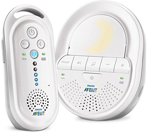 Philips Avent Ecoute-bébé DECT SCD506/05 avec veilleuse et des berceuses