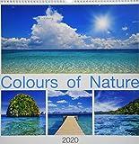 """Calendario da muro """"Colori della natura"""" 2020 42 x 42 cm"""