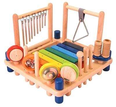 I'm Toy 22050 Xylophone Melody Mix - Set de percusión para niños: xilófono, tambor, triángulo, maracas, etc. por I'm Toy