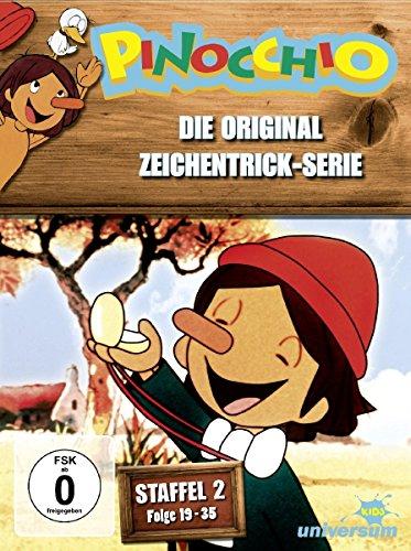 Pinocchio - Die Original Zeichentrick-Serie, Staffel 2, Folge 19-35 [3 DVDs]