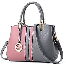Ruiren Fashion Colorblock Bag Messenger Bolso de Hombro