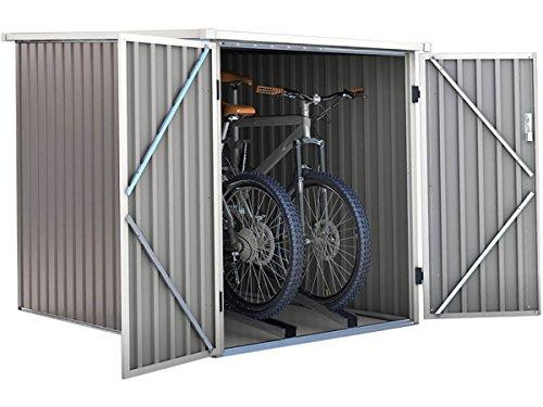 Caseta de jardín para bicicletas