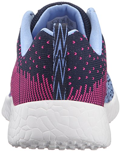 Skechers - Burst Ellipse, Sneaker Bambina Blu (Bleu (Nvhp Marine/Rose Foncé))