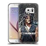 Offizielle AMC The Walking Dead Blicken Daryl Dixon Soft Gel Hülle für Samsung Galaxy S7