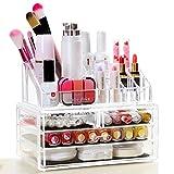 begorey Kosmetik Organizer Transparent Make Up Aufbewahrung Kosmetikkoffer Kosmetikschrank Cosmetic...