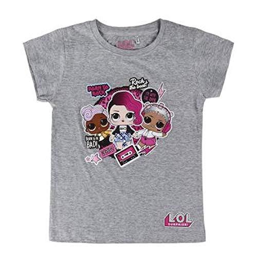 L.O.L. Surprise ! Camiseta para niñas con Las muñecas LOL Rocker, BFF Fancy & Fresh, Diva, M.C Swag...