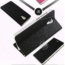 Prevoa ® 丨 Xiaomi Mi4 Funda - Flip Funda Cover Case para XIAOMI MI4 5.0 Pulgadas Smartphone - Negro