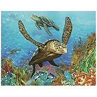 Babysbreath17 Modelo de la Tortuga de mar/Tiger / Dolphin 5D DIY Diamante Pintura Decorativa