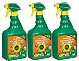 3 x 750 ml Celaflor Rasen Unkrautfrei Anicon ultra Spray Anwendungsfertig