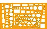 Schablone für Gestalter und Handwerk Studenten - Kreise