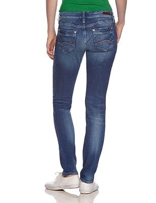 Mavi Women's LINDY; mid str Slim Jeans