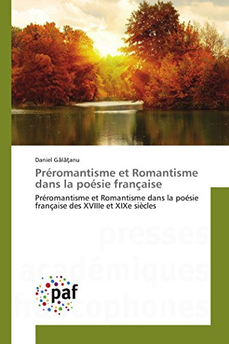 Préromantisme et Romantisme dans la poésie fran�...