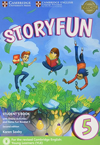 Storyfun 5 Student's Book with Online Activities and Home Fun Booklet 5 Second Edition por Karen Saxby