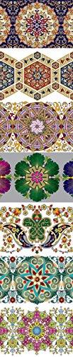 ukrainisches-kunsthandwerk Ostereier Schrumpffolie. Eier Farbe. Kaleidoskop. Nr. 35 reicht für 7 Eier