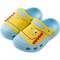 Kids Clogs Boys Girls Garden Shoes Non-Slip Lightweight Sandals Toddler Slip-on Pool Beach Park Shoes
