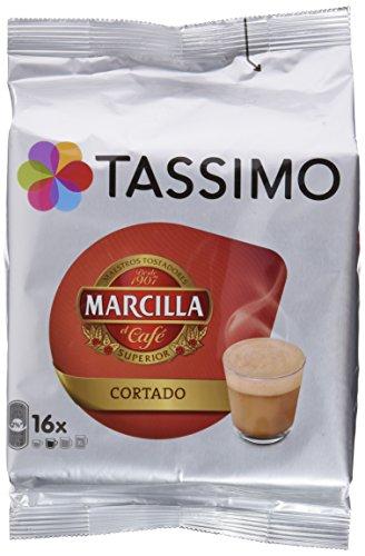 Tassimo Marcilla Café Cortado, 16 T-DISCs