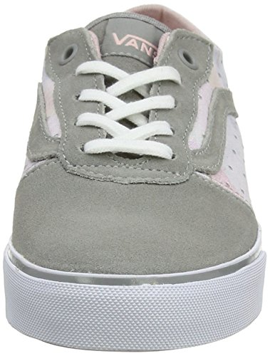 VansMilton - Sneaker basse donna Grigio (Grey (Floral Mini Studs - Mid Gray))