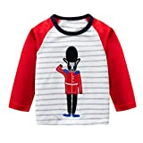 f8b4969a62 Neugeborene Baby Sweatshirt Kleidung Mädchen Junge Langarm Gestreift  Karikatur Fuchs Pullover Tops Outfits Kleinkind Kinder Baumwolle T-Shirt  Kleider ...