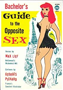 Bachelor's Guide to the Opposite Sex Affiche du film Poster Movie Le guide de bachelier per l'autre sexe (11 x 17 In - 28cm x 44cm) Retro Book Cover