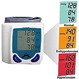 Nouveau tensiomètre de poignet moniteur de pression sanguine Pulse