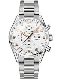 Tag Heuer Carrera Silber Zifferblatt Kaliber 16 Herren-Armbanduhr cv2 a1ac. ba0738