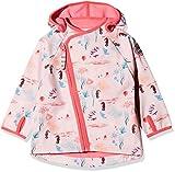 Racoon Mädchen Jacke Ea Softshell (Wassersäule 5000), Mehrfarbig (Pink Lemonade pin), 92
